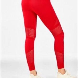 Fabletics Pants - Red Fabletics Leggings